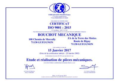 CERTIFICAT_ISO_9001_2015 - Bouchot Mecanique